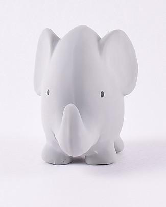 Tikiri Sonaglio Elefante, My First Zoo - 100% Caucciù Naturale Sonagli