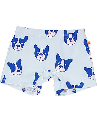 Tiny Cottons Costume Bimbo a Pantaloncino Moujik, Azzurro Costumi a Pantaloncino