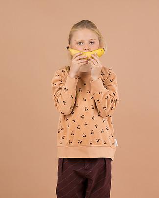"""Tiny Cottons Felpa Maniche Lunghe """"Ciliegine"""" - 100% cotone PIMA Felpe"""