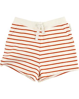 Tiny Cottons Pantalone Corto Righe – 100% Cotone Pantaloni Corti