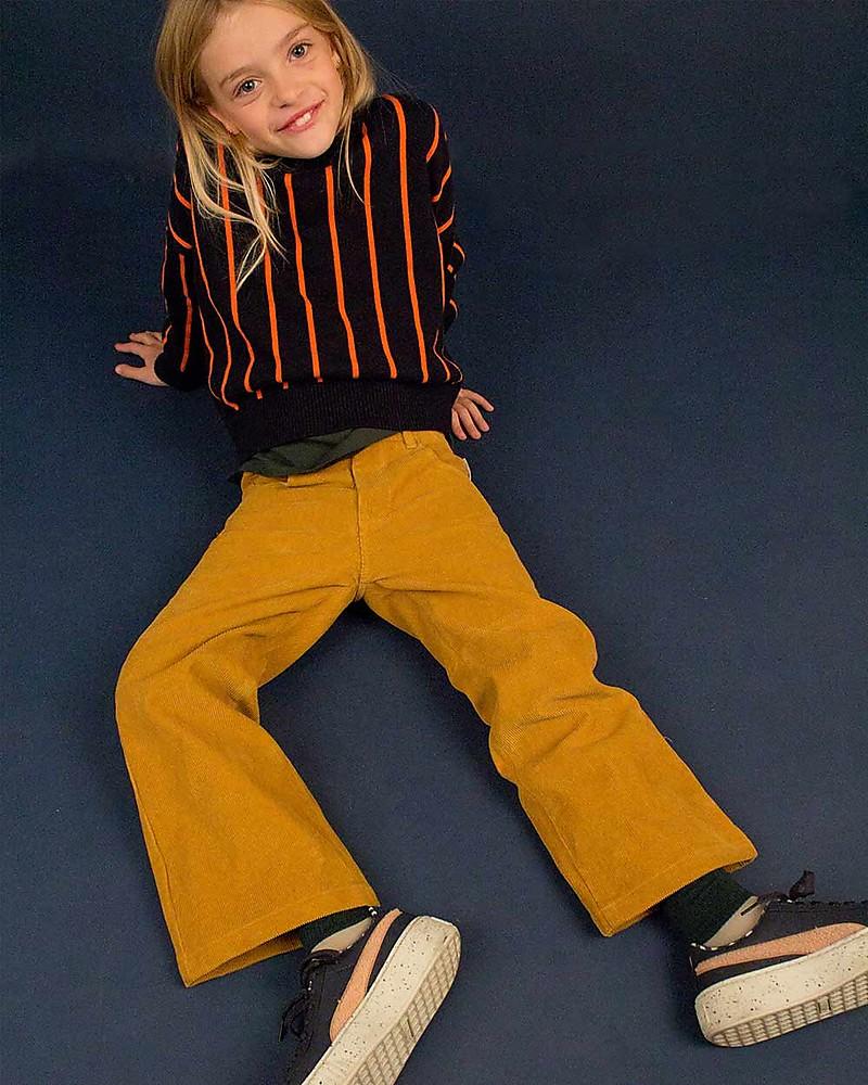 Come Abbinare Il Senape tiny cottons pantaloni velluto a costine, senape unisex