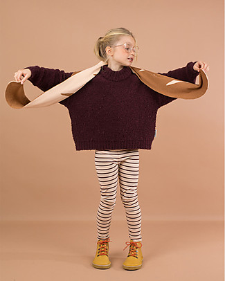 Tiny Cottons Sciarpa Baguette - Cotone e lana merino Sciarpe e Mantelle
