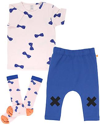 Tiny Cottons T-Shirt Papillon - Cotone Pima Elasticizzato T-Shirt e Canotte