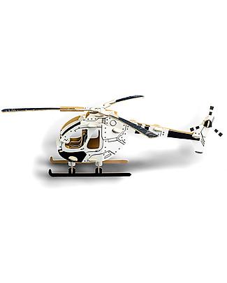 ToDo Gioco da Costruire in Cartone Livello Student, Elicottero 61 pezzi - Ecologia e divertimento! Giochi Creativi