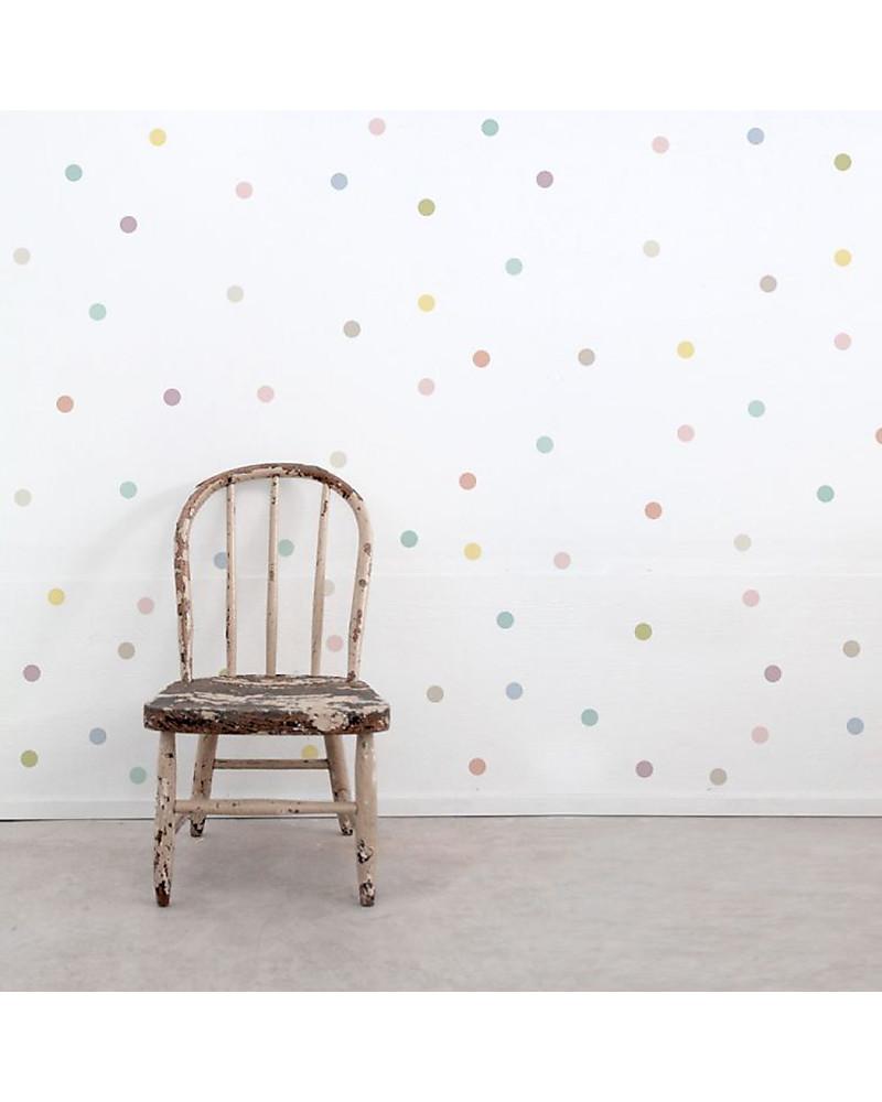 Colori Da Parete Per Camerette tresxics 100 adesivi da parete in tessuto, pois - pastello