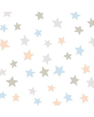 Tresxics Adesivi da Parete Amovibili Stelle, Colori Soft - Confezione da 44 adesivi! Adesivi Da Parete