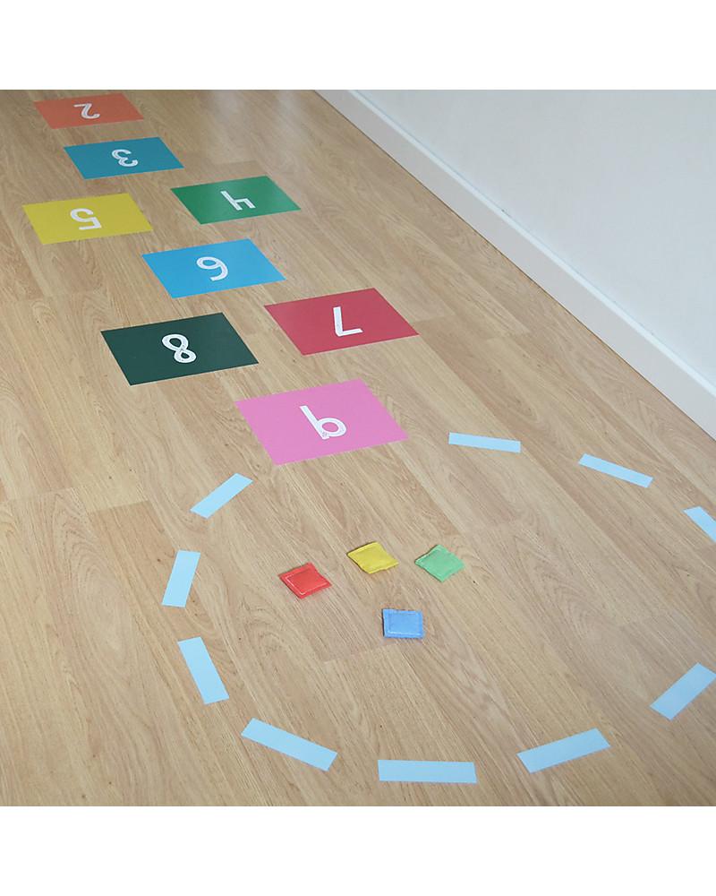 tresxics adesivi in vinile per pavimento gioco della