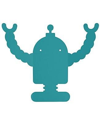 Tresxics Appendioggetti da Parete Robot, R2 - Pratico e divertente Appendiabiti e Grucce