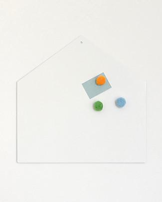 Tresxics Casetta Magnetica - Bianco Adesivi Da Parete