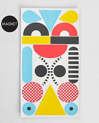 Tresxics Clown Appendiabiti e Magneti - Multicolor Adesivi Da Parete