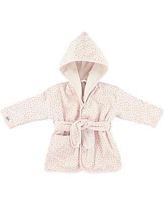 Trixie Accappatoio per Bimbe di 2-3 anni, Pietra Lunare - Cotone Accappatoi e Asciugamani