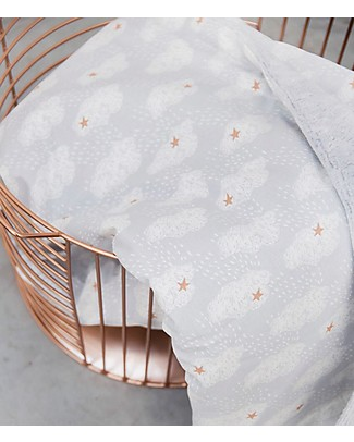 Trixie Copertina Baby in Pile, Nuvolette - 75 x 100 cm Coperte