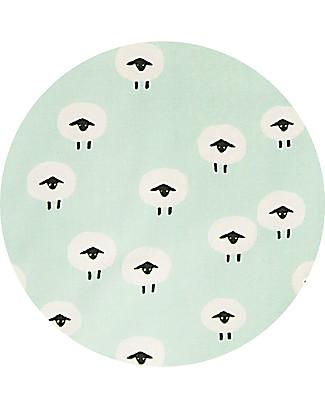Trixie Cuscino per Seggiolone Stokke Tripp Trapp, Pecorelle - 100% cotone bio Seggioloni
