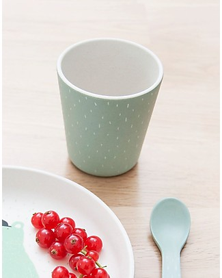 Trixie Lightweighted Cup in Bamboo, Mr Polar Bear - Suitable for Small Hands Cups & Beakers