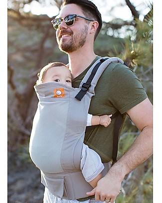 Tula Marsupio Standard, Overcast - Dai 7 Kg, Per Bambini che Amano le Coccole! Fasce Portabebé