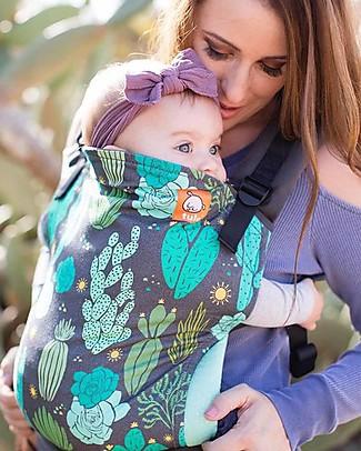 Tula Marsupio Toddler Canvas, Cactus - Dagli 11 Kg, Per Bambini che Amano le Coccole! Marsupi
