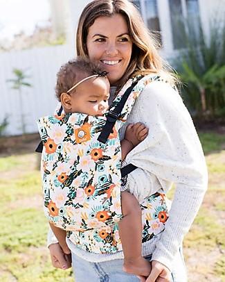Tula Marsupio Toddler Canvas, Marigold- Dagli 11 Kg, Per Bambini che Amano le Coccole! Fasce Portabebé