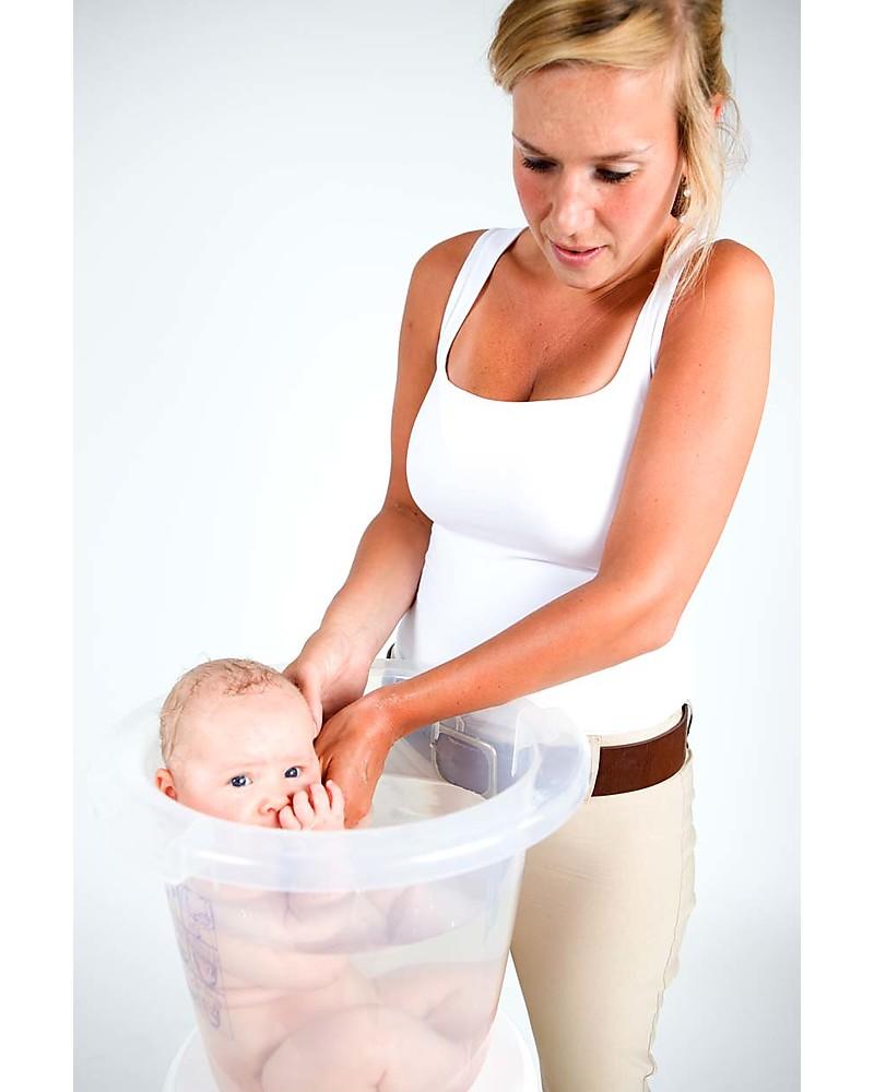 Tummy Tub Vasca bagnetto Tummy Tub® - Rosa - Ergonomica e anatomica ...