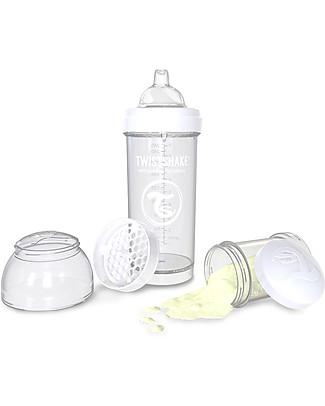 Twistshake 2 Beccucci Anti-Goccia in Silicone per Biberon Twistshake, 4+m – Senza BPA Biberon Anti-Colica