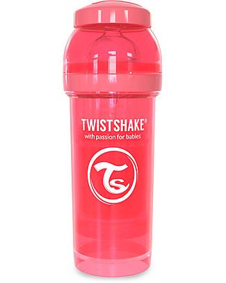 Twistshake Biberon Anti-Colica 260 ml, Pesca Dreamcatcher – Include contenitore e filtro latte! Senza BPA, BPS e BPF! Biberon Anti-Colica