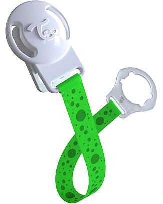 Twistshake Clip Universale Reggi Ciuccio, Verde Sugarpuss – Senza BPA! Ciucci