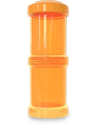 Twistshake Set di 2 Contenitori per Latte o Snack da 100 ml, Arancione Sunbeam - Compatibili con tutti i Biberon Twistshake, senza BPA! Biberon Anti-Colica