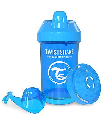 Twistshake Tazza Sippy Antigoccia Fruit Splash con Mixer per Frutta, 300 ml Blu Cookiecrumb – Senza BPA, BPS e BPF! Tazze con Beccuccio Sippy