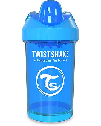 Twistshake Tazza Sippy Antigoccia Fruit Splash con Mixer per Frutta, 300 ml Blu Cookiecrumb - Senza BPA, BPS e BPF! Tazze con Beccuccio Sippy