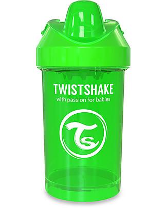 Twistshake Tazza Sippy Antigoccia Fruit Splash con Mixer per Frutta, 300 ml Verde Sugarpuss – Senza BPA, BPS e BPF! Tazze con Beccuccio Sippy