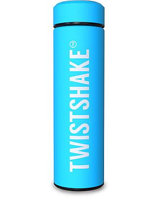 Twistshake Thermos in Acciaio Hot/Cold 420 ml, Turchese Sleepyhead - Mantiene la temperatura Fino a 10 Ore! null