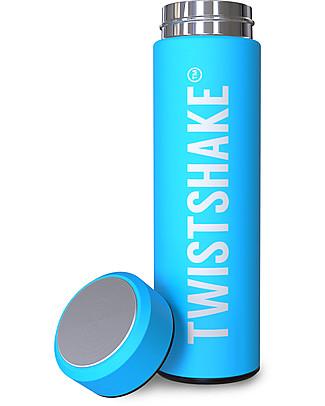 Twistshake Thermos in Acciaio Hot/Cold 420 ml, Turchese Sleepyhead - Mantiene la temperatura Fino a 10 Ore! Thermos