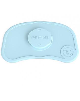 Twistshake Tovaglietta Antiscivolo Click-Mat Mini - Blu Pastello - Senza BPA, BPS e BPF! Set Pappa
