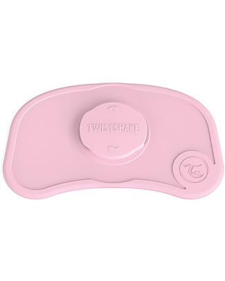 Twistshake Tovaglietta Antiscivolo Click-Mat Mini - Rosa Pastello - Senza BPA, BPS e BPF! Set Pappa
