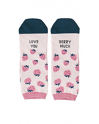 "UO* Calzini ""Love You Berry Much""- Idea regalo, Rosa Calzini"