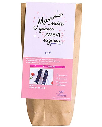"UO* Kit ""Mamma Top"" - Idea regalo Calzini"