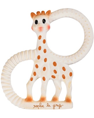 Vulli So Pure Sophie Giraffe Teething Ring Soft Model - Gift Wrapped! Teethers