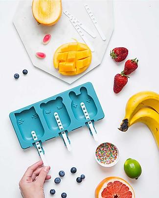 We Might Be Tiny Stampini 2 in 1 Ghiaccioli e Biscotti Gatto/Orso/Coniglietto, Carta da Zucchero - Senza BPA! null