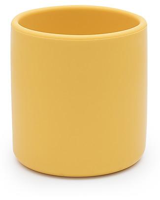 We Might Be Tiny Tazza Ergonomica in Silicone 220 ml, Giallo - Senza BPA! Tazze e Bicchieri