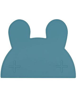 We Might Be Tiny Tovaglietta antiscivolo Coniglietto, Blu Carta di Zucchero - Senza BPA! Set Pappa