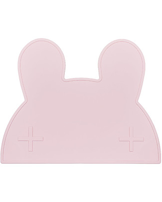 We Might Be Tiny Tovaglietta antiscivolo Coniglietto, Rosa - Senza BPA! Set Pappa