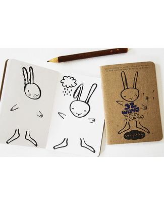 Wee Gallery 32 Modi di Vestire un Coniglietto (Libro Creativo -Carta Riciclata) Colorare