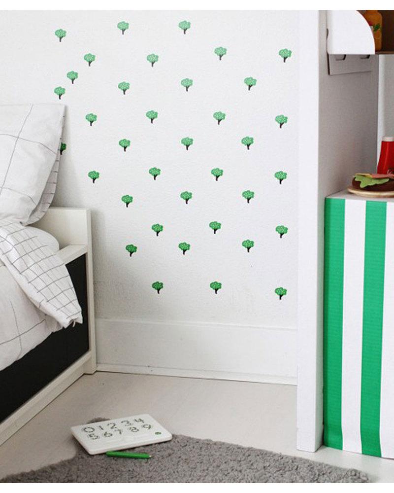 Wee gallery adesivi da parete wee cal   alberi (riposizionabili e ...