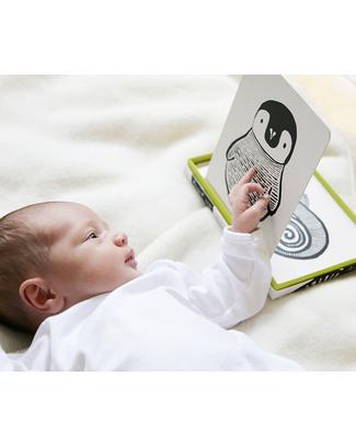 Wee Gallery Cartoline Baby Art Cards - Animali Bianchi & Neri (Visibili per i Neonati) Giochi Per Neonati