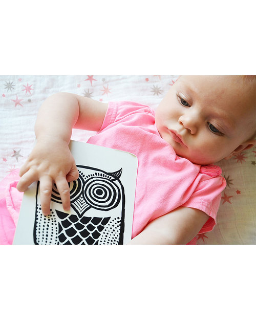 Wee Gallery Cartoline Baby Art Cards - Gli Animali del Bosco (Visibili per i Neonati!) -  Giochi Per Neonati