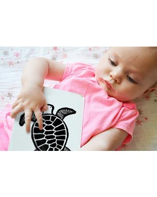 Wee Gallery Cartoline Baby Art Cards - Gli Animali del Mare (Visibili per i Neonati!) Giochi Per Neonati
