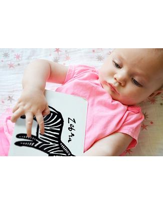 Wee Gallery Cartoline Baby Art Cards - Gli Animali della Giungla (Visibili per i Neonati!) Giochi Per Neonati