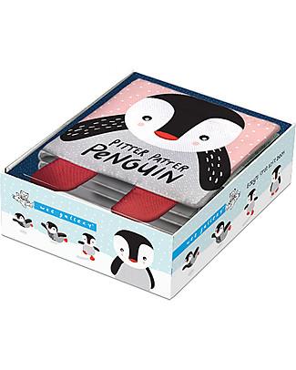 Wee Gallery Il Mio Primo Libro, Pitter Patter Penguin - Libro soffice in tessuto per bambini Giochi Per Inventare Storie