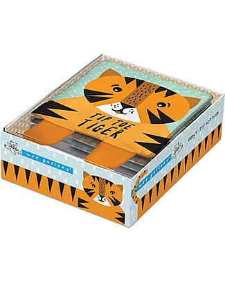 Wee Gallery Il Mio Primo Libro, Tip Toe Tiger - Libro soffice in tessuto per bambini Giochi Per Inventare Storie