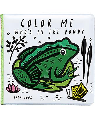 Wee Gallery Libro Acquatico, Amici dello Stagno - Cambia colore a contatto con l'acqua! Giochi Per Inventare Storie