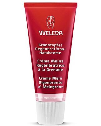 Weleda Crema Mani Rigenerante al Melograno, 50 ml – Anti-ossidante, anti-età Creme e Olii